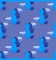 fairytale unicorn seamless pattern vector image vector image