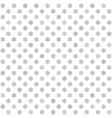 Gray flower pattern seamless