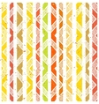 Hand drawn striped colorful seamless pattern vector image vector image
