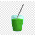 spinach fresh icon cartoon style vector image
