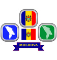 symbol of Moldova vector image