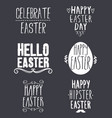 variety easter day stickers vector image vector image
