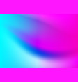 abstract colorful smooth gradient background vector image vector image
