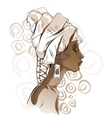 African woman portraits vector image vector image