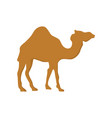 Camel cartoon silhouette