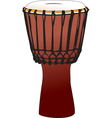 djembe vector image vector image