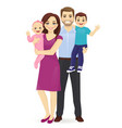 family portrait vector image
