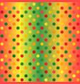 glowing flower pattern seamless gradient vector image vector image