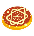 jewish bakery icon cartoon style vector image vector image