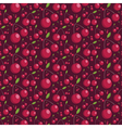 Seamless pattern of juicy cherries vector image vector image