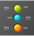 teamwork buttons flowchart background vector image vector image