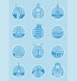 world landmarks travel and tourism landmarks vector image vector image