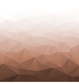 Abstract Gradient Brown Geometric Background vector image vector image