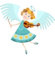 angel cartoon vector image
