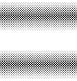 black halftone bilinear horizontal gradient line vector image vector image