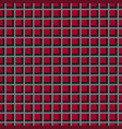 checked red and black and gray background vector image