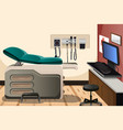 doctor office vector image