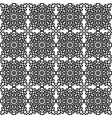 seamless pattern with national russian lace vector image vector image