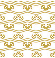seamless pattern with ropes and anchors ongoing vector image