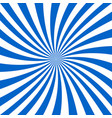 blue and white spiral design background vector image vector image