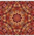 Floral pattern Flourish tiled oriental ethnic vector image vector image
