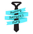 isolated necktie and ribbon vector image vector image