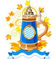 oktoberfest celebration vector image vector image