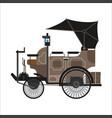 old car or vintage retro collector automobile vector image vector image