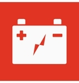 The accumulator battery icon Power and electric vector image