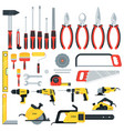 tools big set vector image vector image