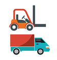 transporting vector image vector image