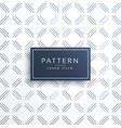 elegant geometric lines pattern vector image