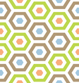 Retro modern hexagon lattice vector | Price: 1 Credit (USD $1)