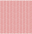 Seamless pattern with hand drawn chevron line grid vector image vector image