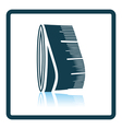 Tailor measure tape icon vector image vector image
