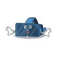 vr virtual reality cartoon character design vector image vector image
