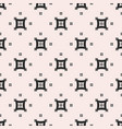 monochrome seamless pattern with arched squares vector image
