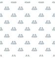 bird social network pattern seamless vector image vector image
