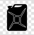 fuel canister icon vector image vector image