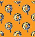 funky doughnut seamless pattern vector image
