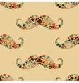 Hipster Mustache Colorful Seamless Pattern vector image