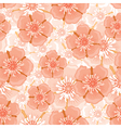 ranunculus pattern vector image vector image