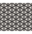 Seamless Black And White Triangle vector image vector image