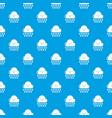 rain pattern seamless blue vector image