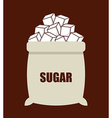 sugar product vector image vector image