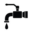 tap icon vector image vector image