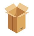 transportation box icon isometric style vector image