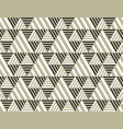 triangle geometry backdrop vector image vector image