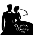 wedding day vector image vector image