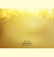 abstract of gold gradient background with golden vector image vector image